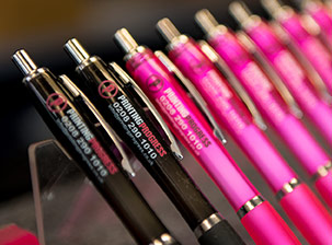 personalised-pens-in-black-and-pink